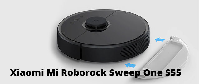 Робот-пылесос Xiaomi Mi Roborock Sweep One S55